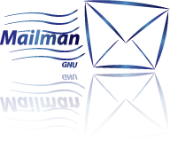 Mailman Email lists manager GNU Freeware
