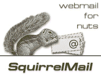 SquirrelMail Web-based Email package written in PHP4